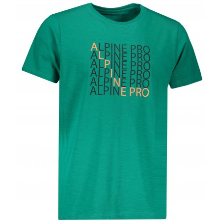 Pánské triko ALPINE PRO EMMET MTSP515 ZELENÁ