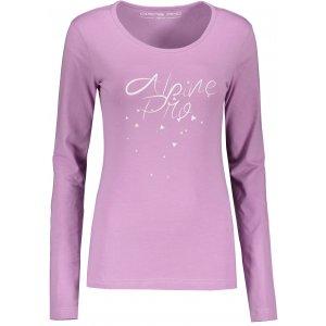 Dámské triko ALPINE PRO MIYA LTSP644 FIALOVÁ