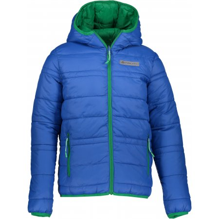 Dětská oboustranná zimní bunda ALPINE PRO SELMO KJCP149 MODRÁ