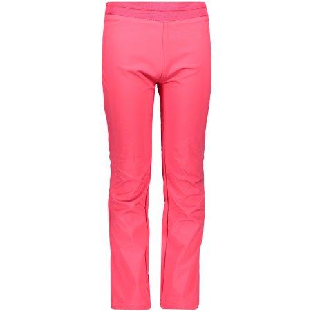 Dětské softshellové kalhoty ALPINE PRO OCIO INS. KPAP072 RŮŽOVÁ