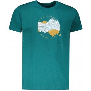 Pánské triko ALPINE PRO UNEG 7 MTSP405 ZELENÁ