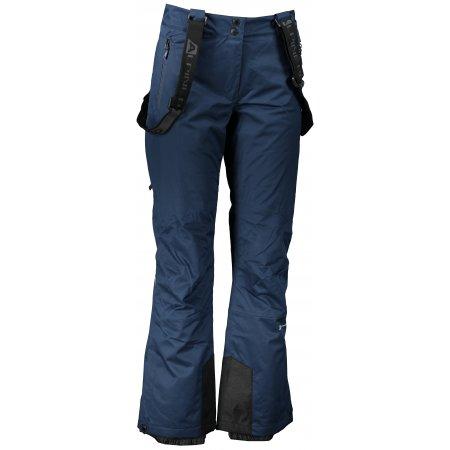 Dámské lyžařské kalhoty ALPINE PRO ANIKA LPAP361 TMAVĚ MODRÁ
