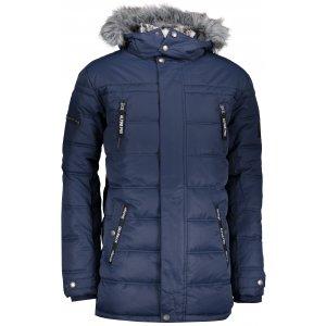 Pánská zimní bunda ALPINE PRO ICYB 5 MJCP361 TMAVĚ MODRÁ
