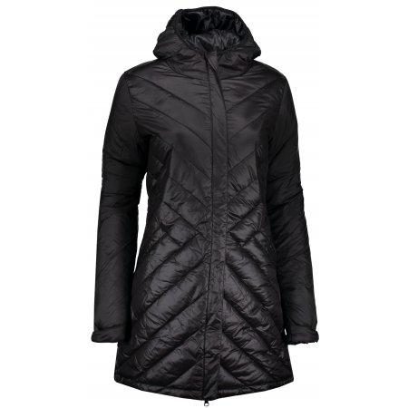 Dámský kabát ALPINE PRO HARANA LCTP117 ČERNÁ