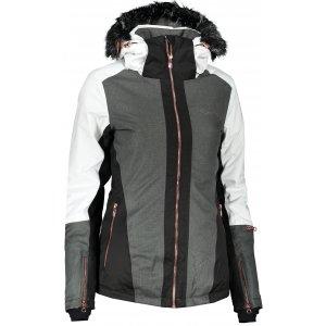Dámská lyžařská bunda ALPINE PRO DORA 6 LJCP354 BÍLÁ