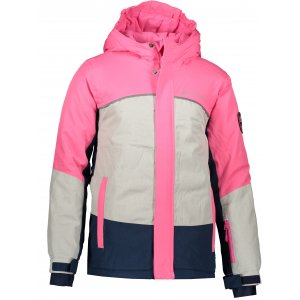 Dětská lyžařská bunda ALPINE PRO SARDARO 2 KJCP154 RŮŽOVÁ