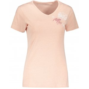 Dámské triko ALPINE PRO MARWA LTSP646 RŮŽOVÁ