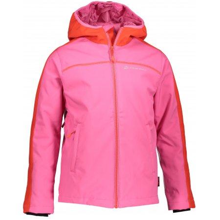 Dětská zimní softshellová bunda ALPINE PRO NOOTKO 2 INS. KJCP147 RŮŽOVÁ
