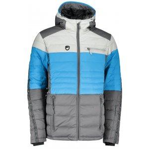 Pánská péřová bunda ALPINE PRO NEITH 2 MJCP371 SVĚTLE MODRÁ