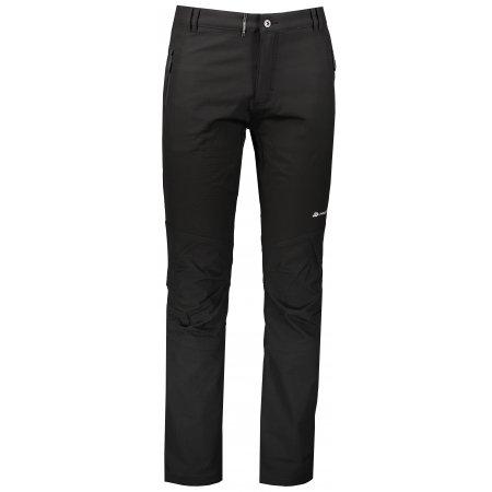 Pánské softshellové zateplené kalhoty ALPINE PRO CARB 3 INS. MPAP378 ČERNÁ
