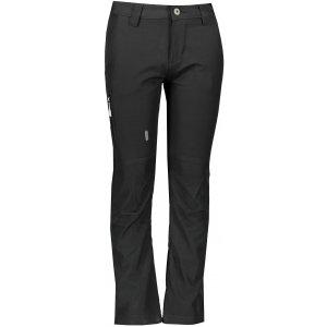 Dětské softshellové kalhoty ALPINE PRO PLATAN 3 INS. KPAP157 ČERNÁ