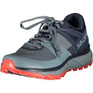Pánské běžecké boty SALOMON TRAILSTER L40789100 STORMY WEAR/NAVY BALZER