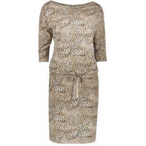 Dámské šaty NUMOCO A13-110 BÍLÁ VZOR