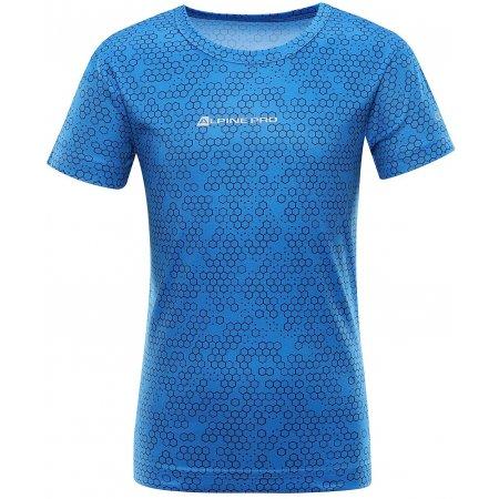 Dětské funkční triko ALPINE PRO HOTO 2 KTSR162 MODRÁ POTISK