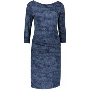 Dámské šaty NUMOCO A59-9 MODRÁ