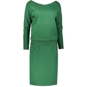 Dámské šaty NUMOCO A189-3 ZELENÁ