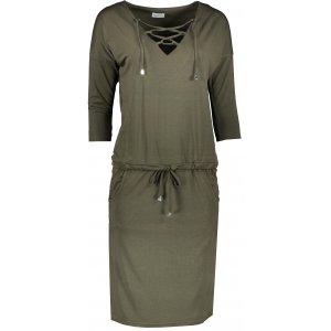 Dámské šaty NUMOCO JANET A230-3 KHAKI