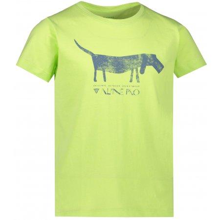 Dětské triko ALPINE PRO NEJO 2 KTSR243 ZELENÁ