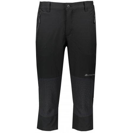 Pánské 3/4 kalhoty ALPINE PRO KADEK MPAR344 ČERNÁ