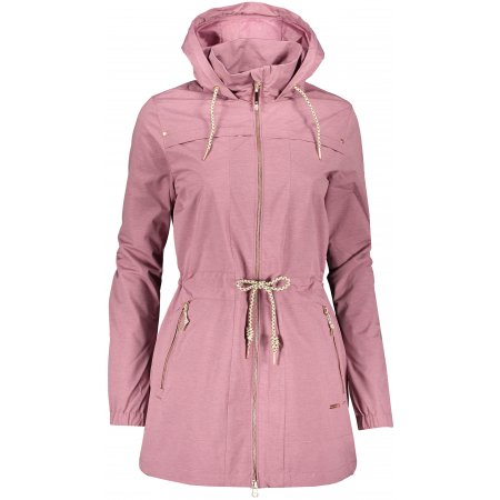 Dámský kabát ALPINE PRO GOANITA 3 LCTR112 RŮŽOVÁ