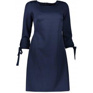 Dámské šaty NUMOCO A195-5 TMAVĚ MODRÁ