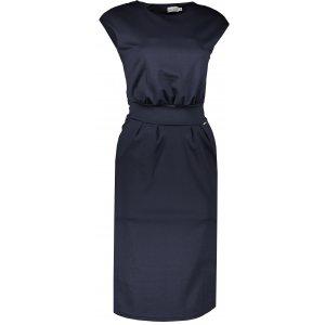 Dámské šaty NUMOCO SARA A144-4 TMAVĚ MODRÁ