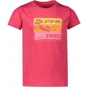 Dětské triko ALPINE PRO MATTERO 2 KTSR239 RŮŽOVÁ