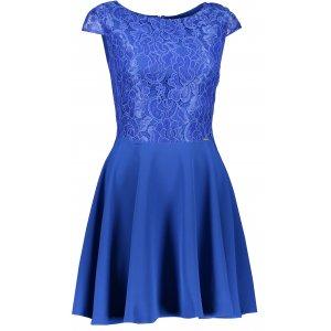 Dámské šaty NUMOCO A157-5 MODRÁ