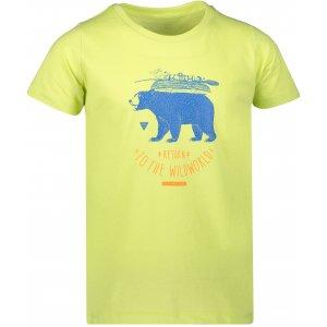 Dětské triko ALPINE PRO GARO 3 KTSR235 ZELENÁ
