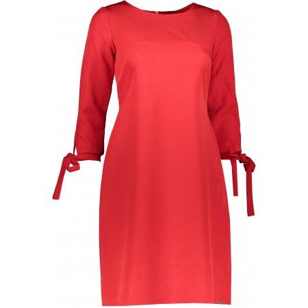 Dámské šaty NUMOCO A195-4 ČERVENÁ