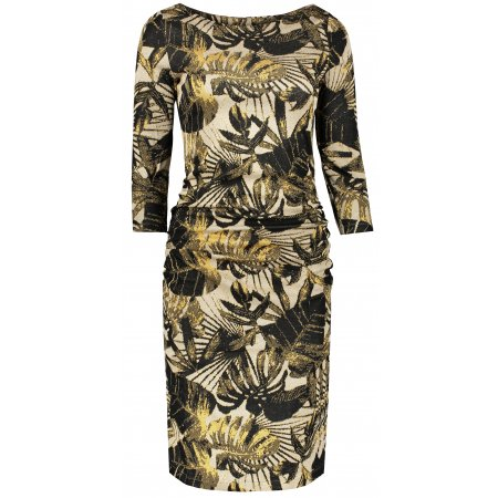 Dámské šaty NUMOCO A59-8 ŽLUTÁ