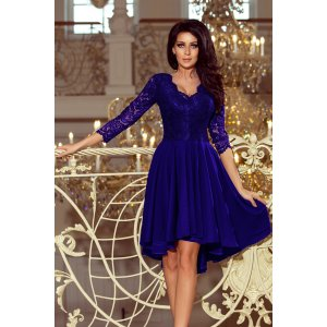 Dámské šaty NUMOCO NICOLLE A210-4 MODRÁ