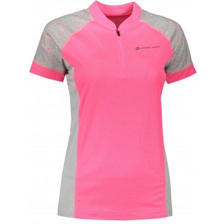 Dámské funkční triko ALPINE PRO SORANA LTSR412 RŮŽOVÁ