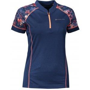 Dámské funkční triko ALPINE PRO SORANA LTSR412 TMAVĚ MODRÁ