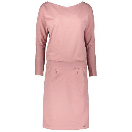 Dámské šaty NUMOCO A189-7 RŮŽOVÁ