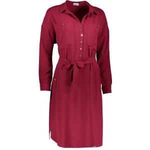Dámské šaty NUMOCO BROOKE A258-1 BORDO