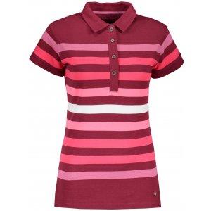 Dámské triko s límečkem ALPINE PRO BYLCA LTSR597 FIALOVÁ