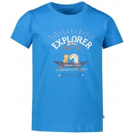 Dětské triko ALPINE PRO AXISO 3 KTSR238 MODRÁ