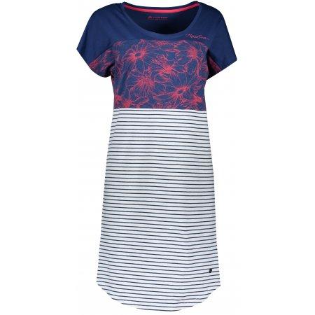 Dámské šaty ALPINE PRO CLEYA LSKR222 TMAVĚ MODRÁ