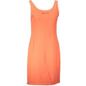 Dámské sportovní šaty ALPINE PRO ELANDA 3 LSKR150 ORANŽOVÁ