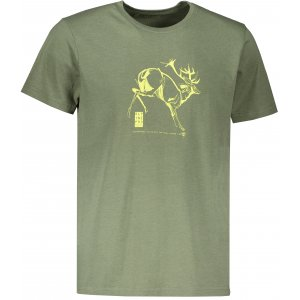 Pánské triko ALPINE PRO TIBERIO 8 MTSR474 KHAKI