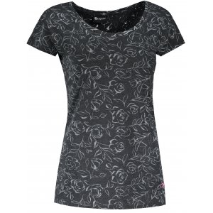 Dámské triko s krátkým rukávem ALTISPORT KREKA LTSR642 ČERNÁ