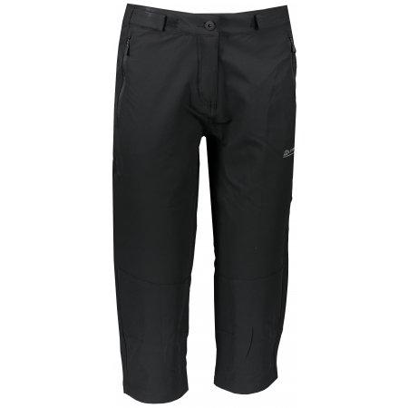 Dámské 3/4 kalhoty ALPINE PRO HYDA LPAR385 ČERNÁ