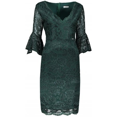 Dámské šaty NUMOCO A234-3 ZELENÁ