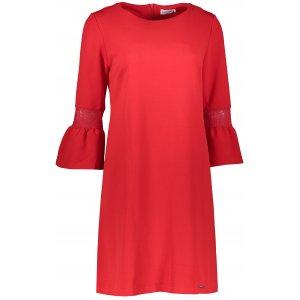 Dámské šaty NUMOCO A190-3 ČERVENÁ