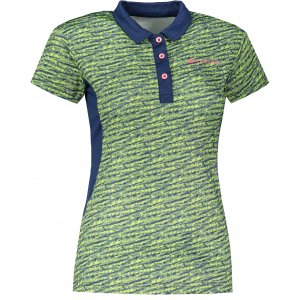 Dámské funkční triko s límečkem ALPINE PRO ISTASA 2 LTSR570 MODRÁ
