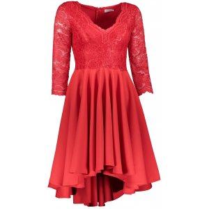 Dámské šaty NUMOCO NICOLLE A210-6 ČERVENÁ