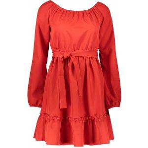 Dámské šaty NUMOCO DAISY A265-4 ČERVENÁ