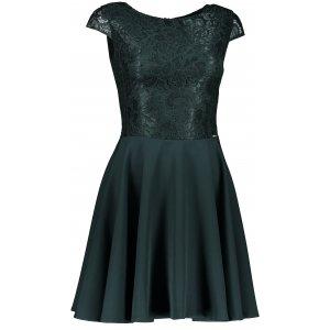 Dámské šaty NUMOCO A157-9 TMAVĚ ZELENÁ