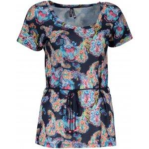 Dámské triko s krátkým rukávem KIXMI JANELLA TMAVĚ MODRÁ